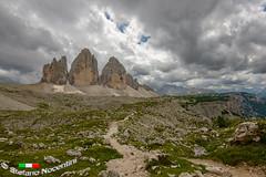 Tre Cime Di Lavaredo (Stefano Nocentini) Tags: montagna 3 cime lavaredo alpi landscape paesaggi italia italy nikon d800 sentieri rocce nuvole tre panoramica panorama