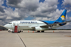 C-GDPA (Canadian North) (Steelhead 2010) Tags: canadiannorth boeing b737 b737200 yhm creg cgdpa