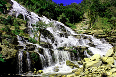 Maeya waterfall waterfall in chiangmai, Thailand (www.icon0.com) Tags: rock landscape travel nature waterfall forest scenic thailand chiangmai scenery stream spring water natural stone beautiful tree park inthanon cascade fall flow green jungle doi national splash maeya high river