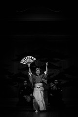 まいばやし (小川 Ogawasan) Tags: japan japon noh maibayashi theater culture dance 能楽 のうがく kimono bw