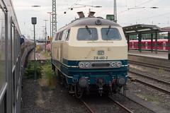 218 480-2 (Disktoaster) Tags: eisenbahn zug railway train db deutschebahn locomotive güterzug bahn pentaxk1 westfalendampf