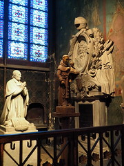 P5270825 (photos-by-sherm) Tags: notre dame cathedral paris france summer interior organ music chapels statues artwork carvings windows people