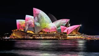 Pink & Green Opera House