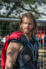 DSC00225 (Damir Govorcin Photography) Tags: chris hemsworth look alike thor cosplay supernova comic con sydney 2018 costume character person sony a9 100mm stf lens natural lght