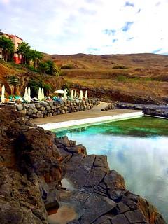 Madeira, Portugal. Funchal, Hotel Beach