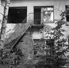 Pripyat (Mr Kevino) Tags: pripyat chernobyl ukraine exclusionzone abandoned bw fuji 120 tlr acros neopan
