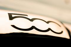 The Fiat 500! (bp-122) Tags: fiat 500 car transportation automobile chrome badge logo model macro mondays macromondays