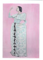 **** (ally.fane) Tags: analog film toyo fujifilm xray handcoloring oil largeformat fashion analogue ishootfilm color studio art