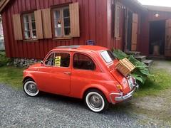 Son - Fiat 500 (pserigstad) Tags: akershus son