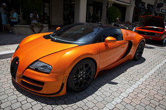 Bugatti Veyron Grand Sport (Burnt Umber) Tags: bugatti veyron grand sport florida south boca raton car show fathers day mizner park antique auto automobile france french rpilla001