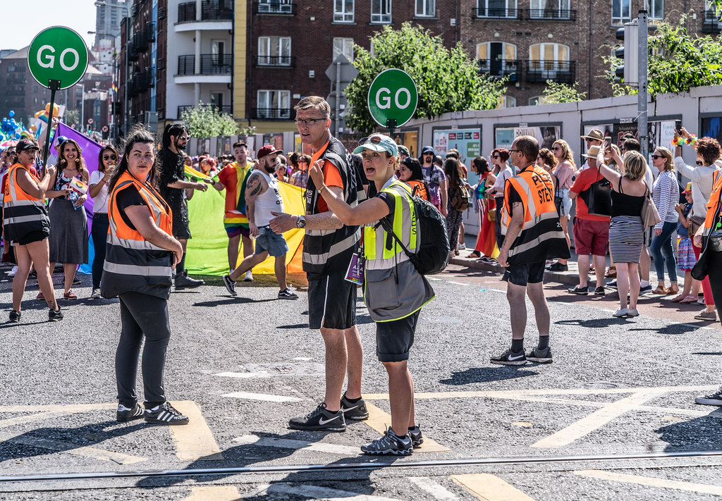 ABOUT SIXTY THOUSAND TOOK PART IN THE DUBLIN LGBTI+ PARADE TODAY[ SATURDAY 30 JUNE 2018] X-100036
