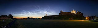 A Midsummer Night - Noctilucent Clouds, Bamburgh Castle, Northumberland