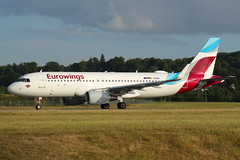 D-AEWI Eurowings Airbus A320-214(WL) at Edinburgh on 5 July 2018 (Zone 49 Photography) Tags: aircraft airliner airlines airport aviation plane july 2018 edi egph edinburgh turnhouse scotland ew ewg eurowings airbus a320 airbusa320 200 214 wl daewi
