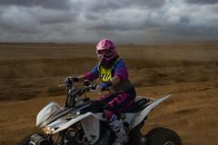 She could take me...somewhere (thedailyjaw) Tags: bigisland hawaii d610 greensandbeach hike atv offroad 4x4 helmet motorbike