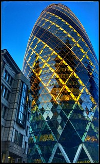 ...on the road...golden at dusk..my London Town