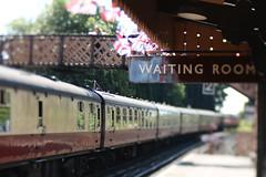 Bridgnorth (jillyspoon) Tags: bridgnorth shropshire svr 1940s train sea steam steamtrain waitingroom ununion jackbuntingstationrailway stationplatformfootbridgelensbabysignageedge 50 edge