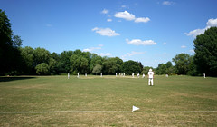 A view from the boundary (SteveJM2009) Tags: cricket match game harnham salisbury wiltshire uk july 2018 summer stevemaskell