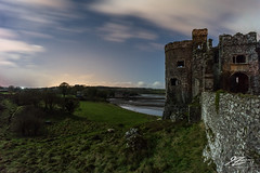 Stowaways Once Again #3 (TVZ Photography) Tags: carewcastle castell caeriw fort pembrokeshire wales derelict decay ruin history nationalpark night evening stars cloud landscape sony a7r voigtlander 21mm ultron