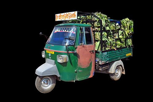 India - Karnataka - Mysore - Trishaw - 216d