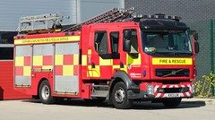 KX13 LGK (Ben Hopson) Tags: county durham darlington fire rescue service cddfrs 999 volvo fl appliance pump ladder station ibac 2018 2013 kx13 lgk kx13lgk d06 d06p1