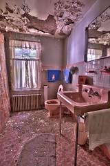 Inside An Abandoned WWII Army Surgeon's House (6) (Darryl W. Moran Photography) Tags: urbex urbanexploration urbandecay abandonedanddecaying abandonedsurgeonshome leftbehind forgottenpast frozenintime darktouristphotography