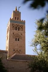 Koutoubia Minaret (Darren Poun) Tags: marrakesh marrakech morocco africa mosque minaret islam religion monument arabic arab nikon d800 d800e nikkor58mm f14 traveling