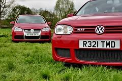 EditP1000757 (@r32ukoc_) Tags: volkswagen vw golf r32 mk4 mk5 car vehicle transport v6 outdoor grass tree field sky colour red green black event show r32ukoc
