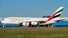 A6-EEE-1 A380 AMS 201807