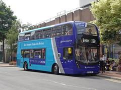 Arriva Derby 4542 Burton (Guy Arab UF) Tags: arriva derby 4542 yy67hdh alexander dennis e40d enviro 400mmc bus burton upon trent high street staffordshire buses