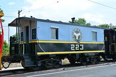 Illinois Ry Museum #223 (Jim Strain) Tags: jmstrain train railroad railway caboose irm illinois museum chicago beltrailway