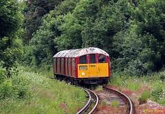 South Western Railway Island Line 004 ex London Underground Northern Line 1938 stock near Shanklin June18 1 (Copy) (focus- transport) Tags: isle wight island line south western railway london underground northern 1938 stock