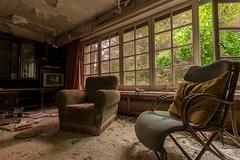 DSC_1656- (Bee Urbex) Tags: urbex exploring adventure chairs old
