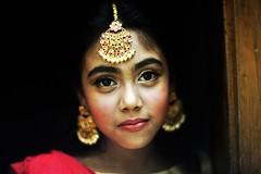 A Dressed Up Ichi (N A Y E E M) Tags: basma kalam daughter portrait today availablelight indoors nikaah aqd nabeela wedding home rabiarahmanlane chittagong bangladesh