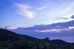 P7214586 (kunmorita) Tags: star 星 海 空 夜空 夜間撮影 sea sky night 夕焼け マジックアワー magic hour 黄昏