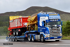 GOVERN LOW LOADER TRANSPORT SCANIA TOPLINE 164G 580 V8 FOUR SERIES 04-MH-15500 (Darren (Denzil) Green) Tags: lefthanddrive duelwheeltag govern governlowloadertransport v8 580 164g moy a9 trailer heavy heavyhaulage stgocat2 6x4 scania fourseries topline ireland stgocat nooteboom nooteboomtrailers transport lowloaderhire