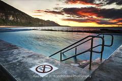 Coal cliff Pool - South Coast - NSW (paulbartle - Shot2frame Photography) Tags: coalcliff southcoast illawarra 2508 stanwellpark tasmansea pacificocean nsw newsouthwales australia canon5dmk3 canon moodysky shot2frame shot2framephotography