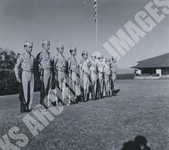 412- 5455 (Kamehameha Schools Archives) Tags: kamehameha archives ksg ksb ks oahu kapalama luryier pop diamond 1954 1955 best squad 1st first platoon b company oliver crowell rotc military uniform