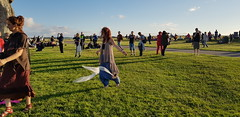 Summer Solstice 2018: Thousands celebrated longest day of the year at Stonehenge (The Stonehenge Stone Circle Website.) Tags: stonehenge summer solstice open access druid gathering sunset sunrise pagan english heritage visit wiltshire neolithic