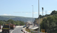 gilwern to brynmawr a465 heads of the valleys road dualling june 2018 h (Dskies) Tags: road building construction major works tarmac bridges wlaes wales june sunny