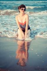 Beach Session Pin Up (DavidGonzalvo) Tags: pinup retrato portrait beach playa beachsession cheesecake girl pinupgirl