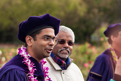 Vishal (Jeremy Caney) Tags: appliedmathdepartment appliedmathematics campus ceremony flowers glasses graduateschool graduation guggenheim indian mathematicians mathematics pinkman purple regalia scruffy talking universityofwashington vishalvasan