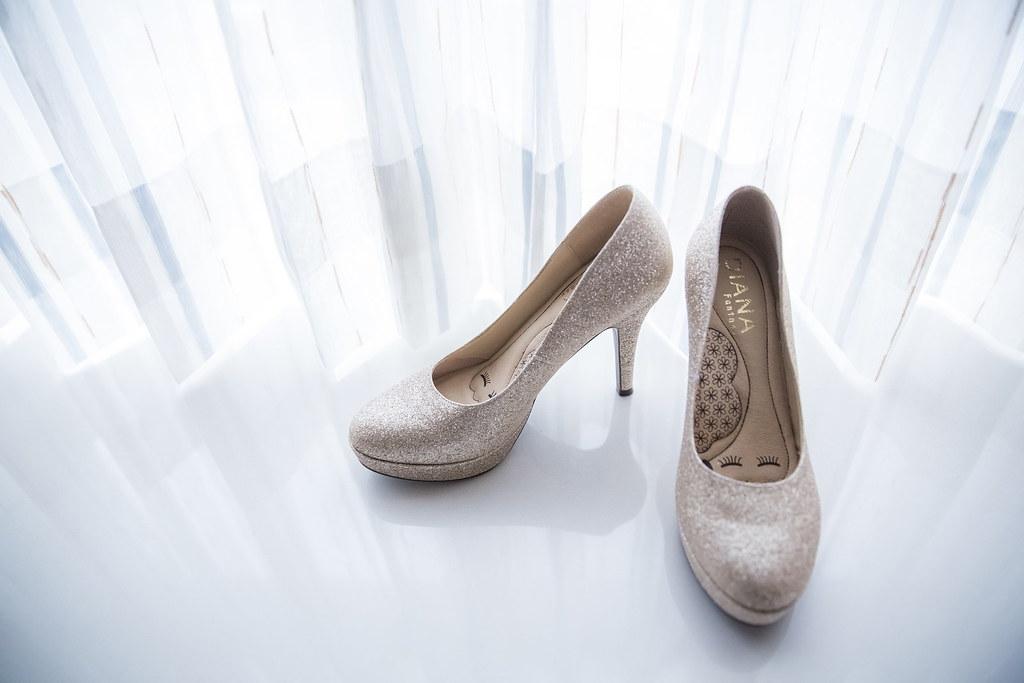 0022婚禮紀錄-婚攝-內湖和璞飯店-高跟鞋