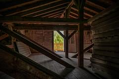 Mattress store in the attic (Peter's HDR-Studio) Tags: petershdrstudio hdr lostplace matress attic wood dachboden matratze holz door