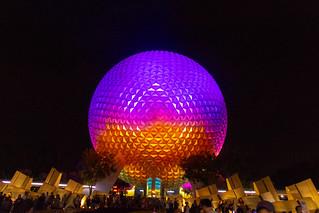 Spaceship Earth - Night