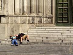 Bros in Brussels (Eadbhaird) Tags: brussels saintmarysroyalchurch schaerbeek belgium bel street noon