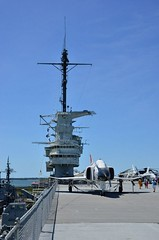 2018 05 04 068 USS Yorktown (Mark Baker.) Tags: 2018 america baker cv10 carolina charleston mark may sc south us usa uss aircraft carrier day outdoor photo photograph picsmark spring states united yorktown mount pleasant