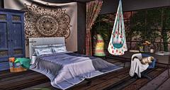 Sweet Dreams <3 (RyanTailor (Taking Clients)) Tags: boho bohemian bedroom applefall pilot summerfest zencreation merak drd acorn sayo jian cb lb littlebranch