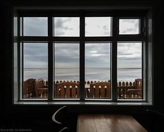 Looking out (katrin glaesmann) Tags: iceland unterwegsmiticelandtours photographyholidaywithicelandtours vestfirðir westfjorde westfjords peninsula sea beach rauðasandur redsandsbeach window café