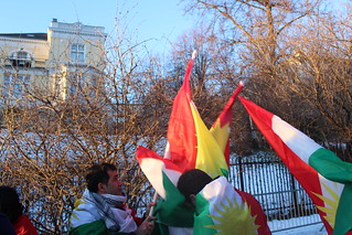 Kurdistan Flagg