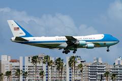 92-9000 (Hector A Rivera Valentin) Tags: boeing 747 pr puertorico sju tjsj one force air